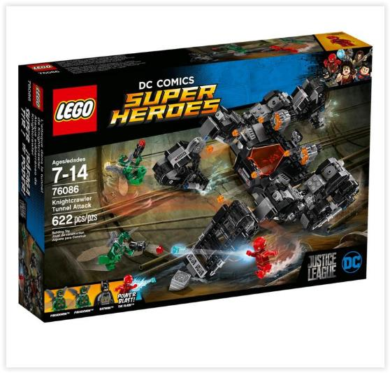 LEGO Super Heroes Knightcrawler Tunnel Attack 76086