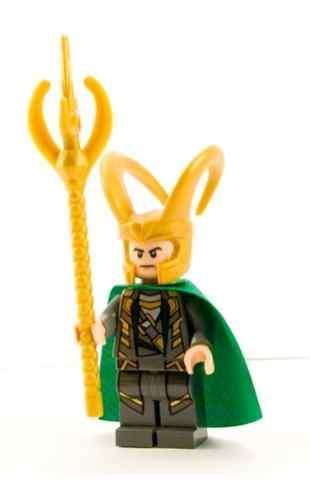LEGO Super Heroes Marvel Avengers LOKI Minifigure NEW. U2039 U203a