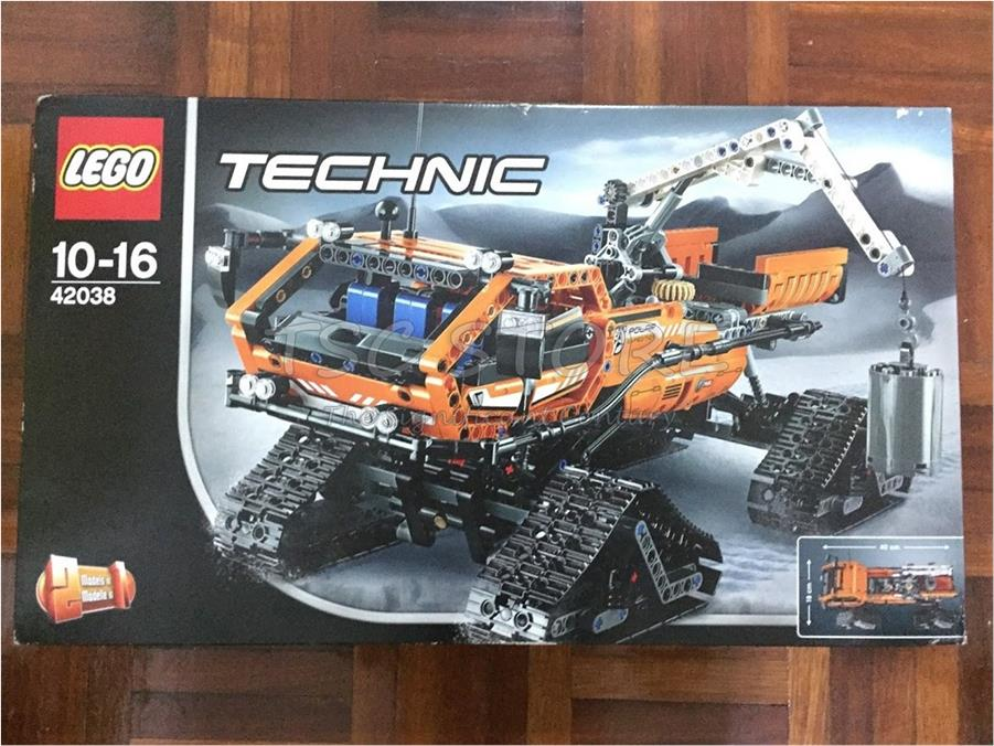 lego technic arctic truck 42038 or end 3 24 2019 11 24 pm. Black Bedroom Furniture Sets. Home Design Ideas