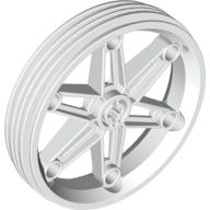 LEGO Wheel Rim (61.6mm Diameter x 13.6mm Thickness) [By WallE Grocery]