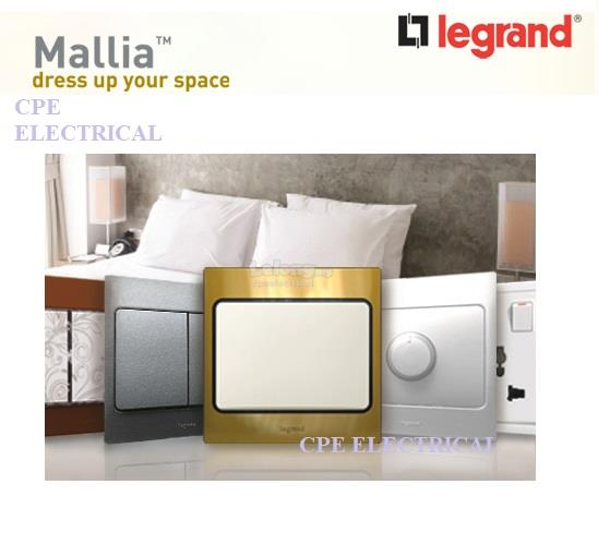 LEGRAND MALLIA 13A Switched Socket Outlet