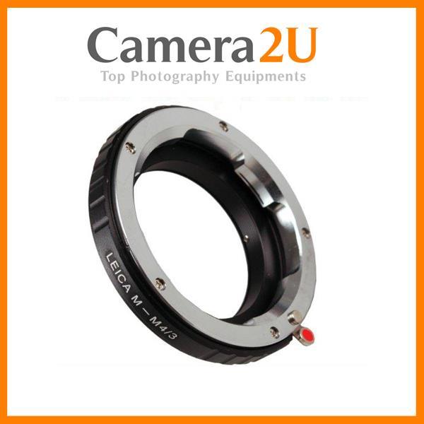 Leica M Lens To MFT M43 Micro 43 M4/3 Body Mount adapter