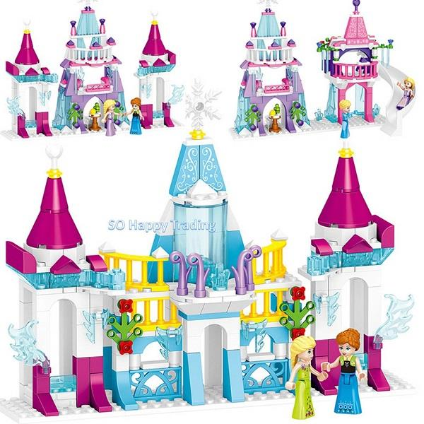 LELE 37057 Princes Ice Castle (4 boxes)