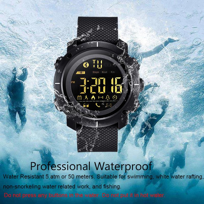 LEMFO LF19 Smart Watch Waterproof Smartwatch Sports Pedometer 507614a2a0
