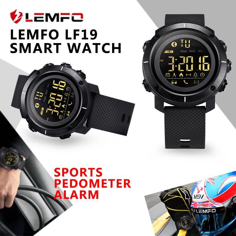 LEMFO LF19 Smart Watch Waterproof Smartwatch Sports Pedometer. ‹ › b456336ed7