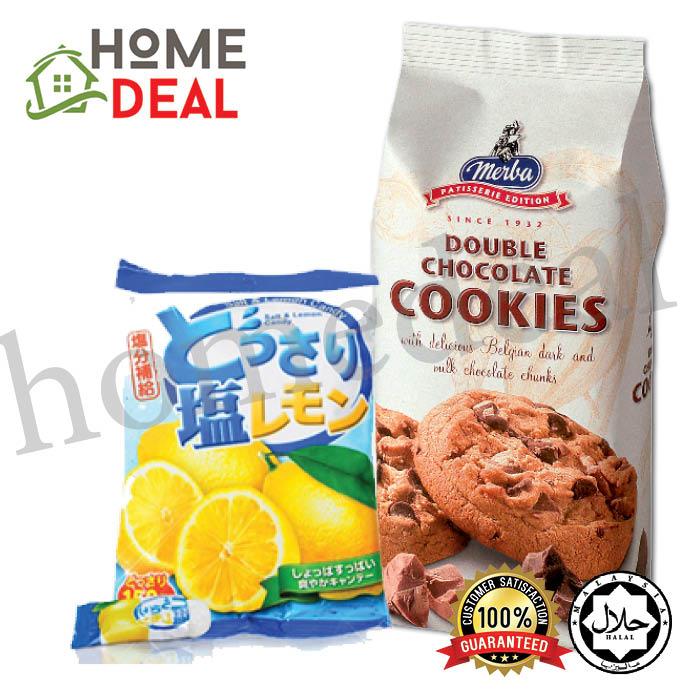 Lemon And Salt Candy + Merba Patisserie Double Chocolate Cookies (????