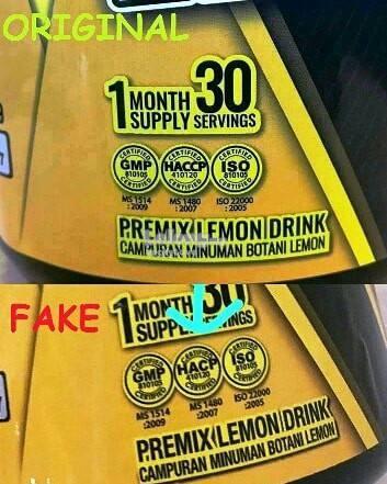 LEMONEX FAT BURNER ( 30 Sachets ) Full Pack Pembakar Lemak Ubat Kurus