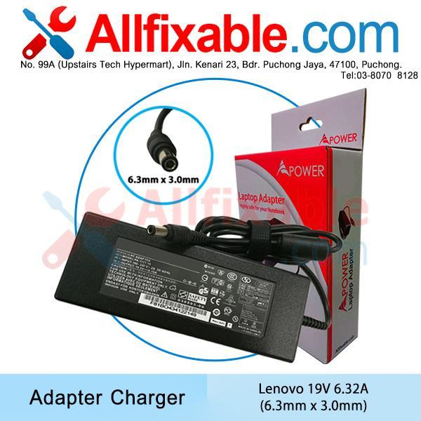 Lenovo 19.5V 6.15A IdeaCentre C220 C225 C300 C305 C320 Adapter Charger