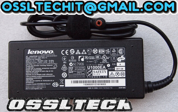 LENOVO 19.5V 6.15A Laptop POWER Adapter Charger
