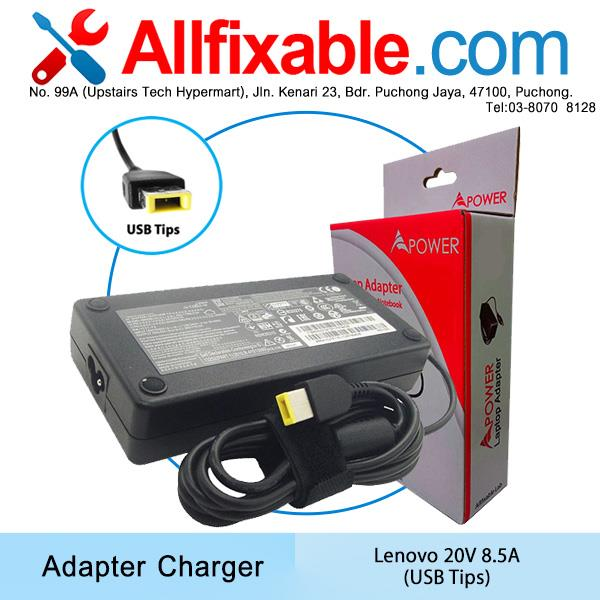 Lenovo 20V 8.5A IdeaPad 700-15ISK Y700 Y700-15ISK Adapter Charger