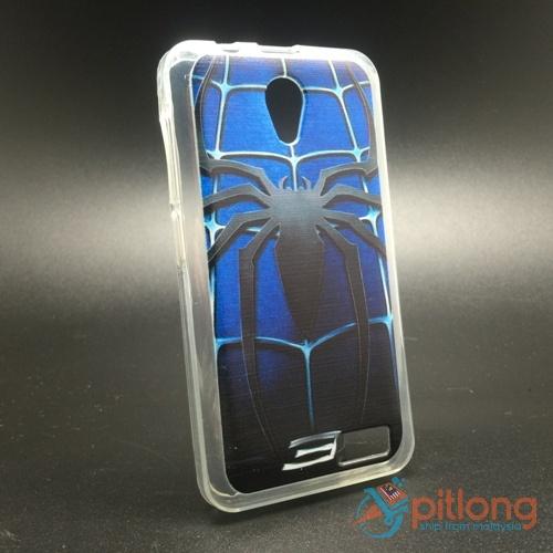 low priced b2d0e d1405 Lenovo A319 Cartoon Soft Tpu Silicon Back Cover Phone Case