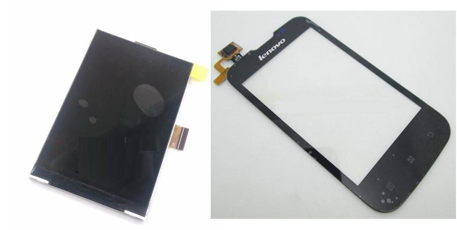 Lenovo A60 + A60+ Display Lcd  / Digitizer Touch Screen Sparepart