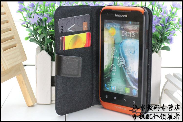Lenovo A660 Doormoon Flip Leather Case Cover + Free Screen Protector
