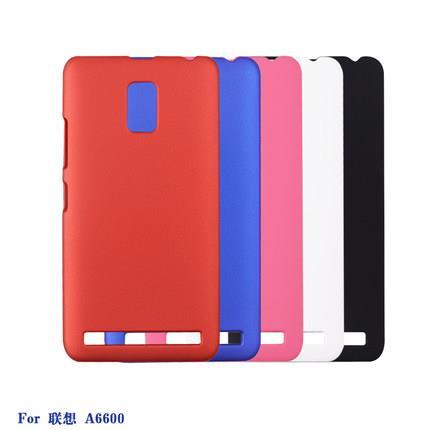 Lenovo A6600 Plus Color Hard Case Casing Cover