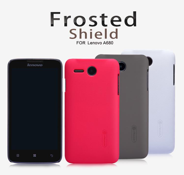 Lenovo A680 Nillkin Super Frosted Shield Back Case - rmtlee