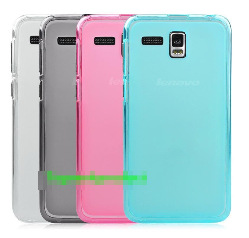 Lenovo A8 A806 A808T Transparent Silicone Case Cover Casing + Gift