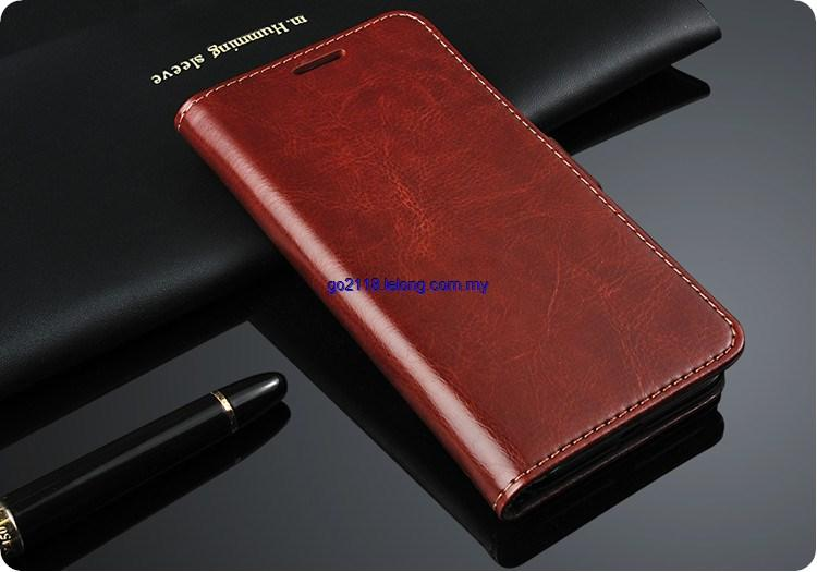 Lenovo A859 A678T Genuine Leather Case Cover Casing Flip Case