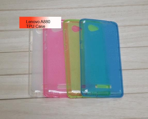 Lenovo A880 TPU Case (White Transparent)