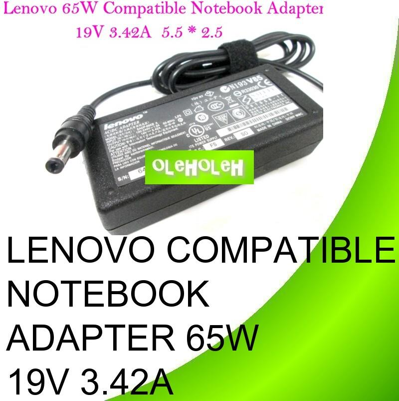Lenovo Compatible Notebook Adapter 65W 19V 3.42A