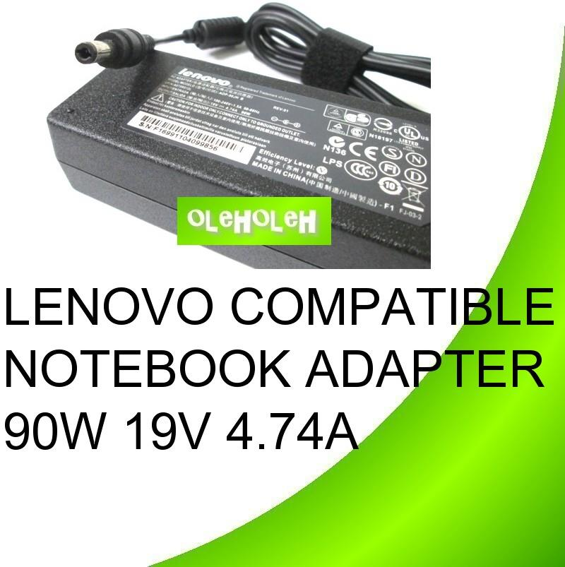 Lenovo Compatible Notebook Adapter 90W 19V 4.74A