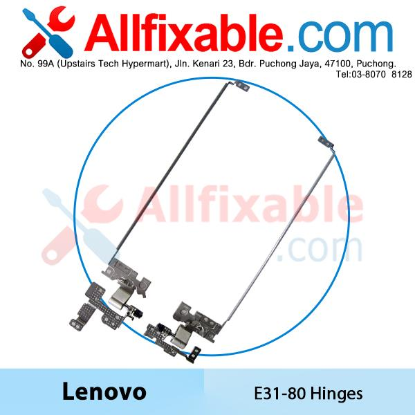 Lenovo E31-70 E31-80 Notebook Laptop Hinges