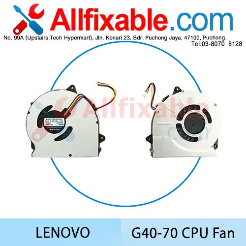 Lenovo G40-70 G50-70AT-ISE G50-70AT-ITH G50-70AT-PTH G50-70M CPU Fan