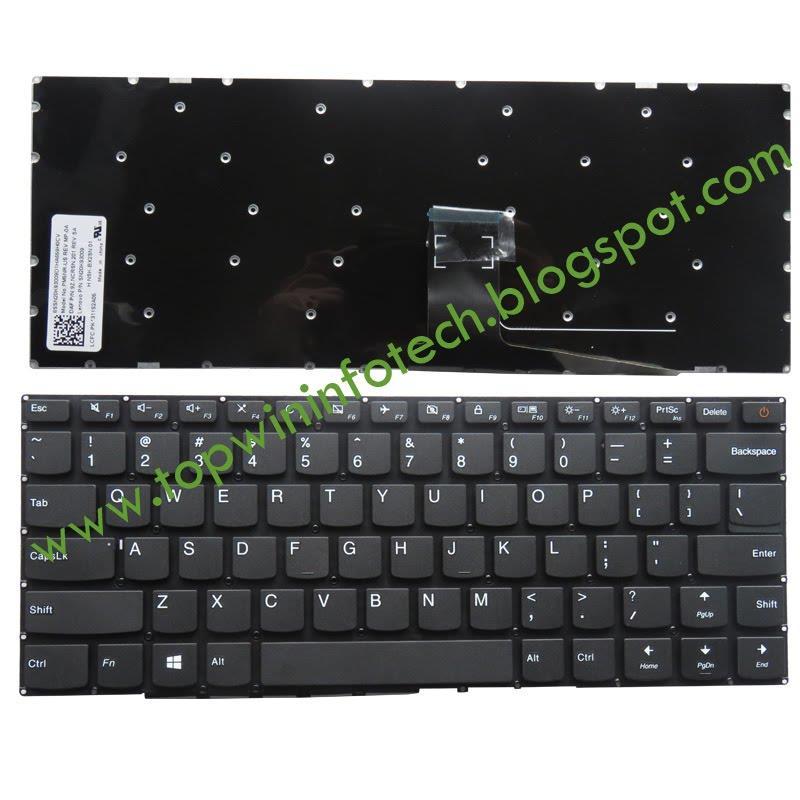 Lenovo Ideapad 110 14 110 14ibr 110 14isk Keyboard