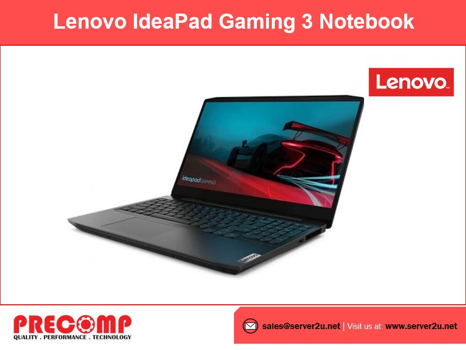 Lenovo IdeaPad Gaming 3 Notebook (AMD4800H.8G.512GB) 82EY00BPMJ