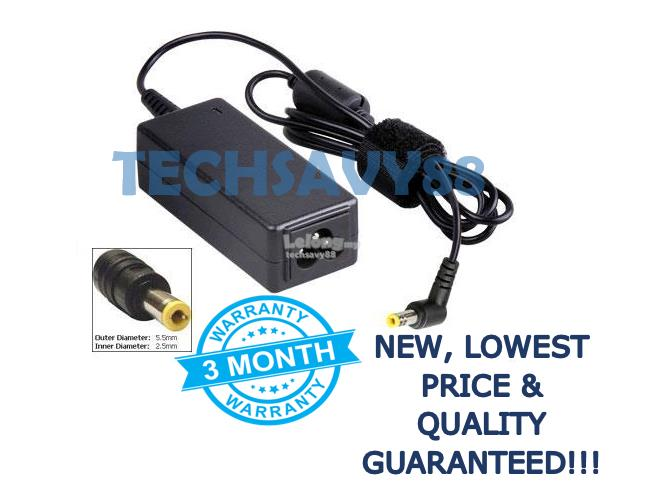 Lenovo IdeaPad S10e S100 S110 S10-2 S10 Laptop Power Adapter Charger