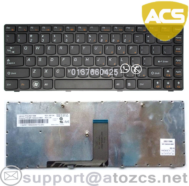 LENOVO IDEAPAD V470AT V470GT B470A B470G V470 Laptop Keyboard
