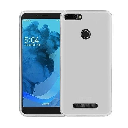 Lenovo K320t Transparent Back Silicone Full Case Casing Cover