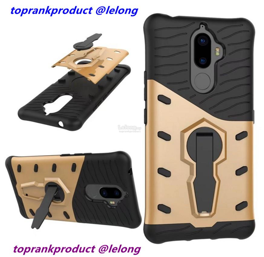 Lenovo K8 Note ShakeProof Armor Stand Back Case Cover Casing