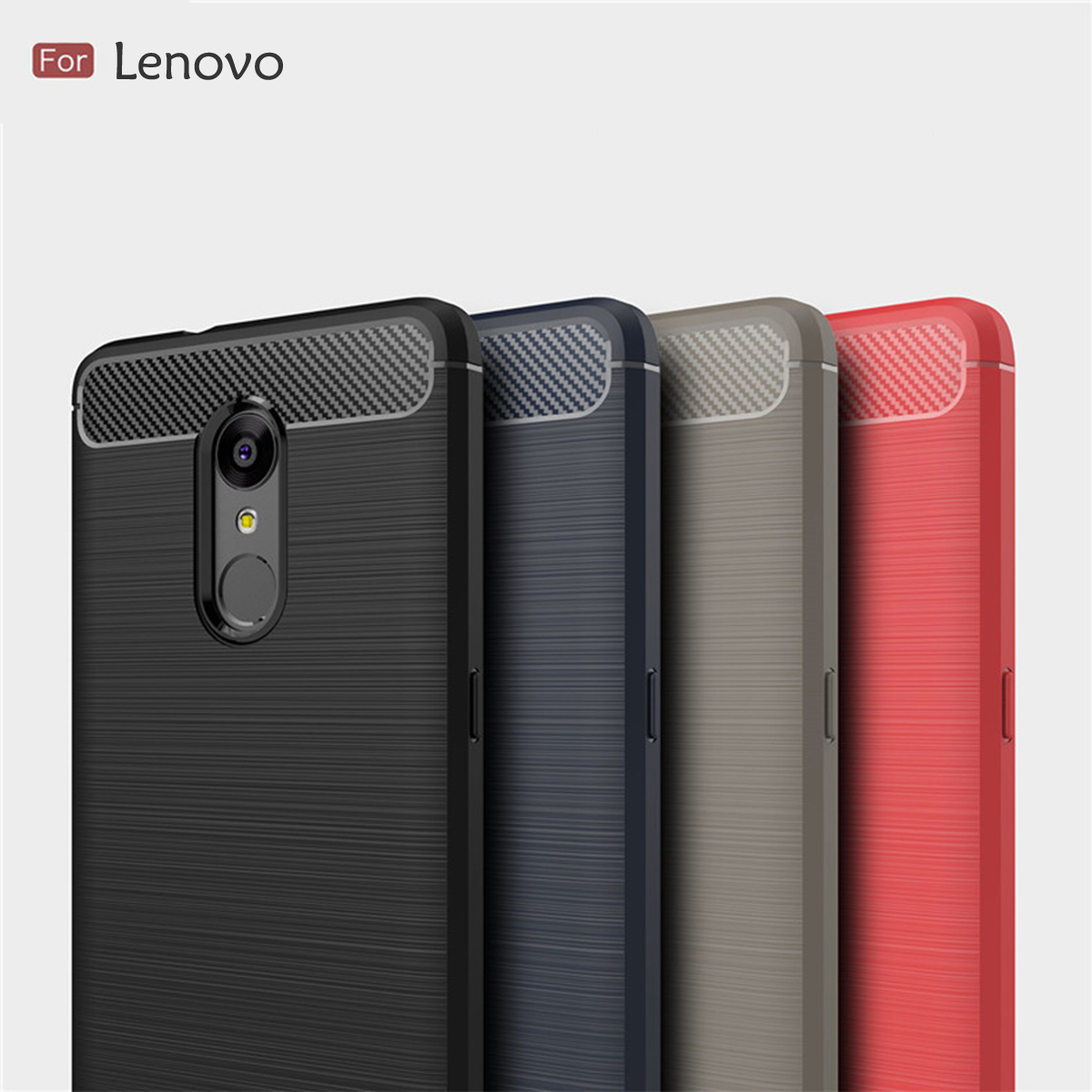 Lenovo K8 Plus K8 Note K6 Note Brushed TPU Soft Case Cover Casing