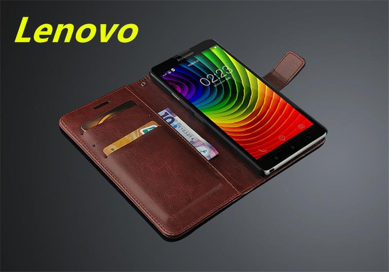 Lenovo K80 K80m P90 Flip Card Slot Leather Case Cover Casing +Gift