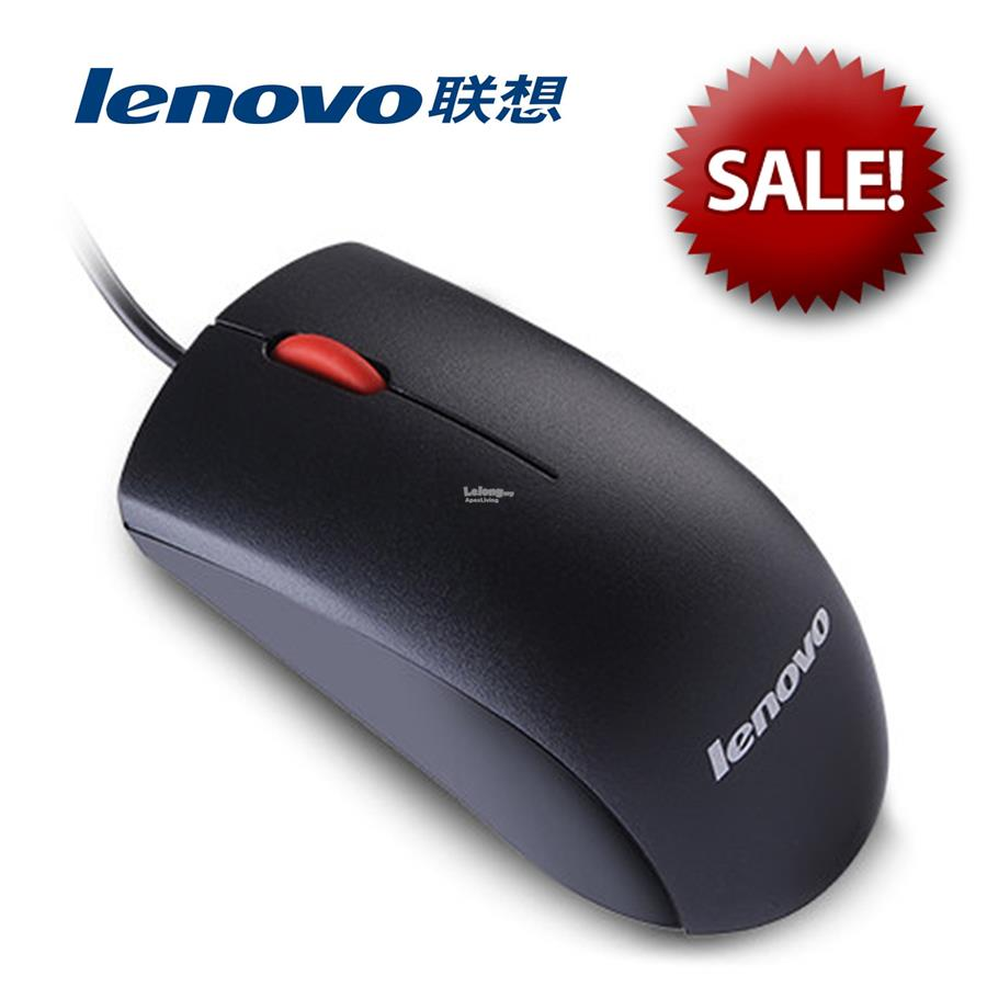Lenovo M120 USB Wired Optical Mouse