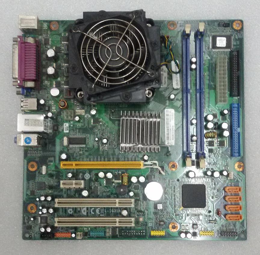 Lenovo M57e 45C2882 ECS G31T-LM Motherboard G31 + C2D E4500 2 2GHz CPU