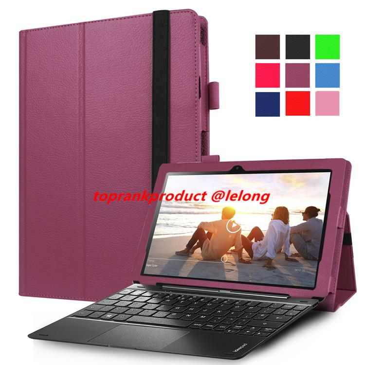 Lenovo Miix 310-10ICR Flip PU Leather Stand Case Cover Casing + SP