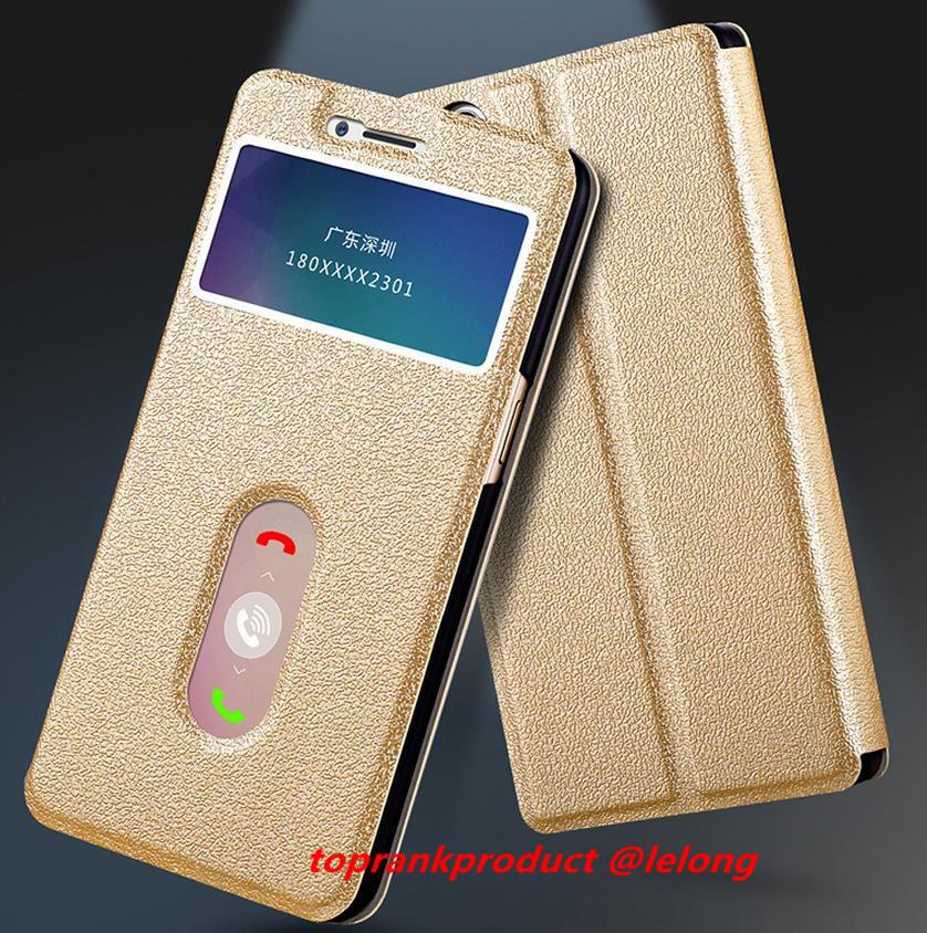 Lenovo P70 Flip PU Leather Armor Case Cover Casing + Free Gift