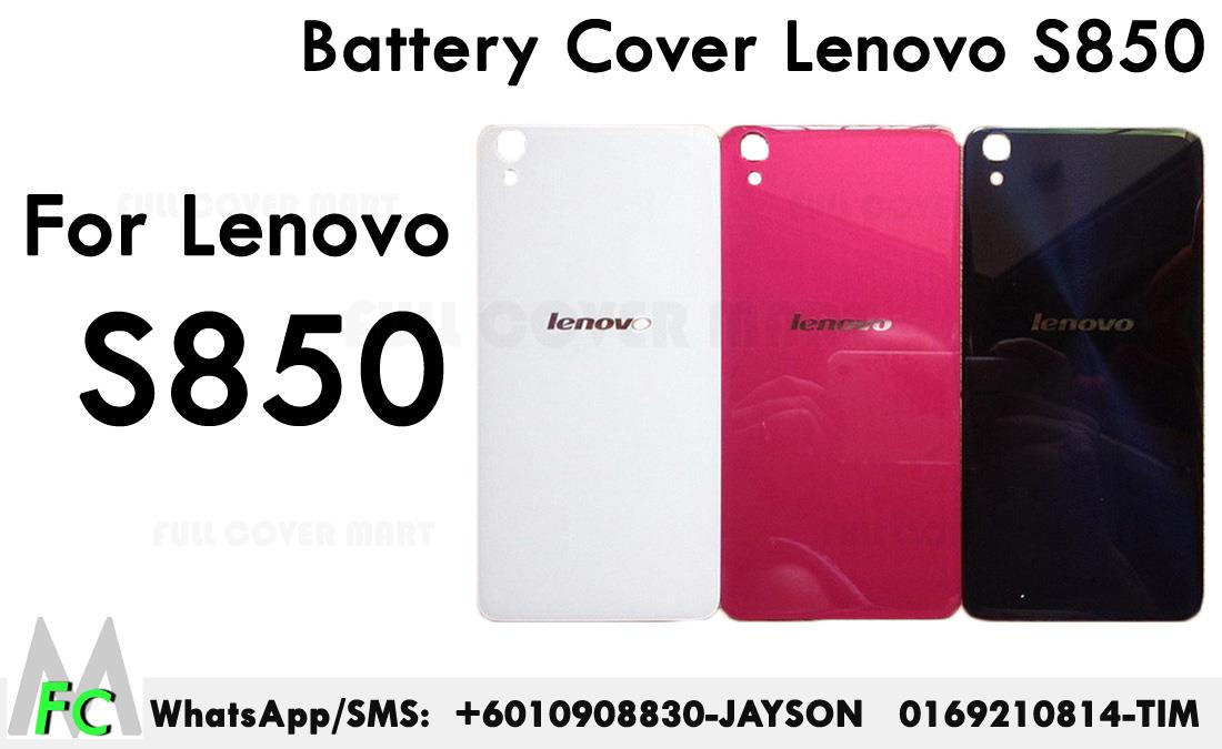 reputable site e22ba 4140a Lenovo S850 Battery And Housing Cover Back Cover Battery Cover