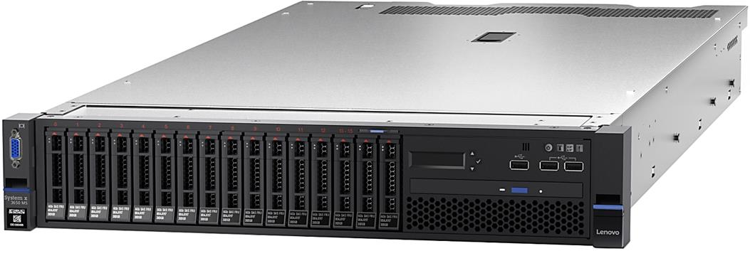 LENOVO System x3650 M5 Rack Server INTEL XEON E5-2620V4/16GB/MAX120TB