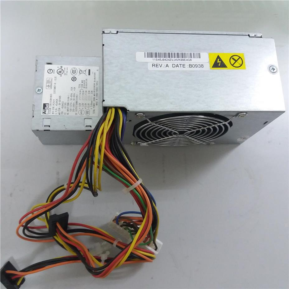 Lenovo ThinkCentre M57 SFF 280W Power Supply PSU 45J9418 45J9423