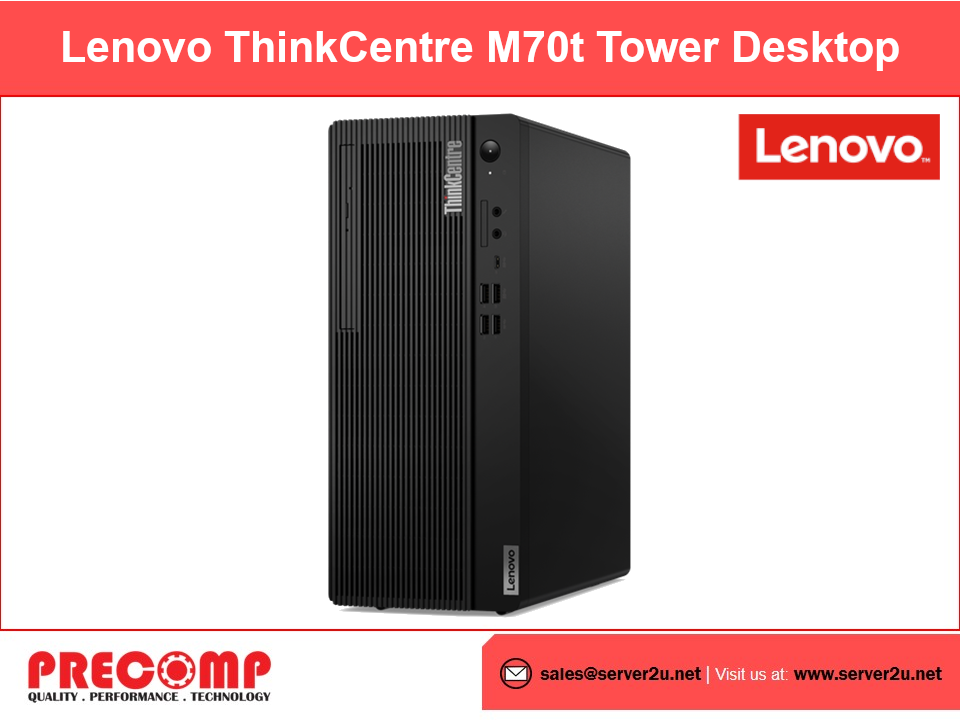 Lenovo ThinkCentre® M70t Tower Desktop (i5-10500.4GB.1TB) (11DA002QME)