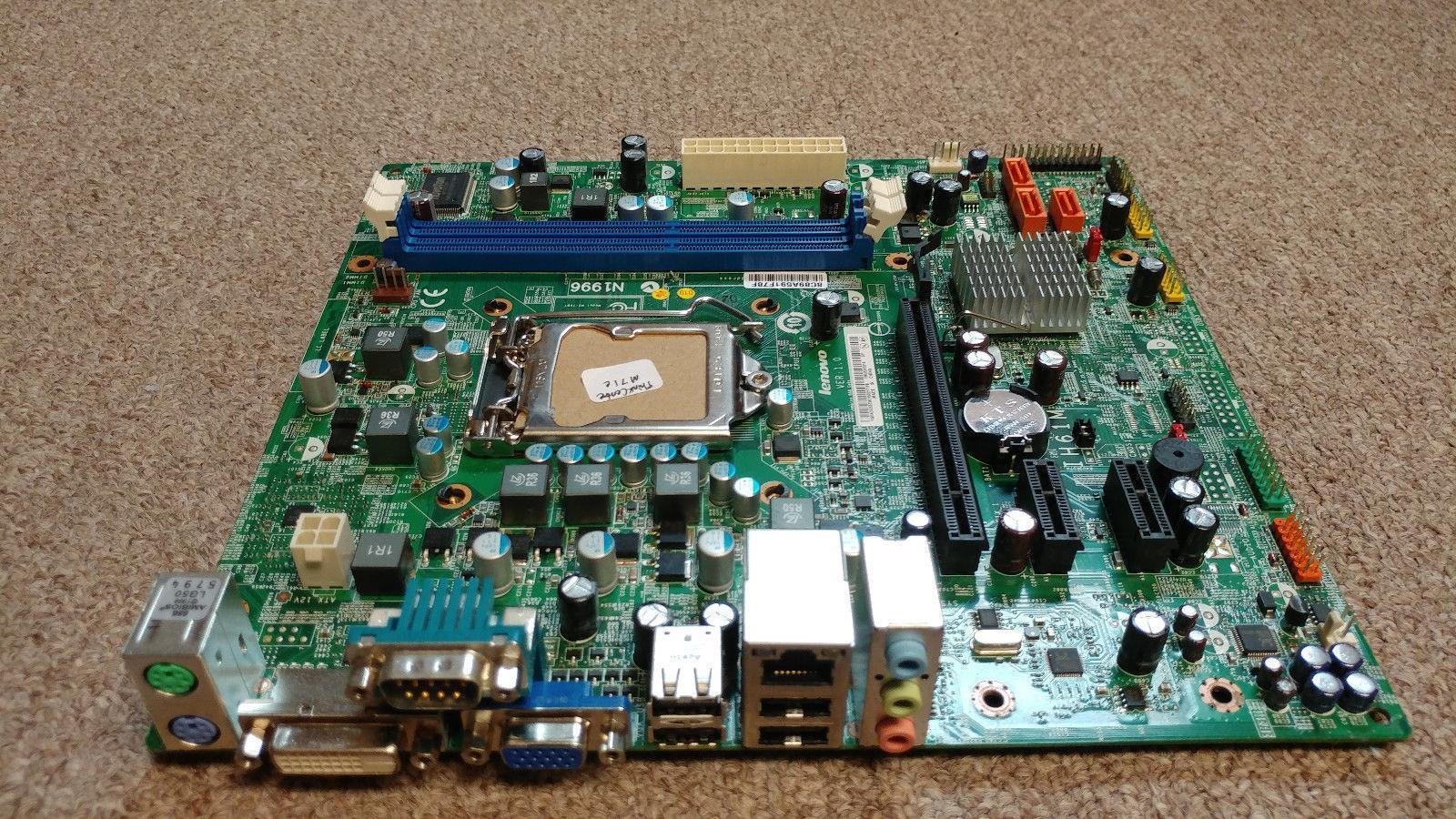 Lenovo ThinkCentre M71e Desktop Motherboard s1155 DDR3 03T6014
