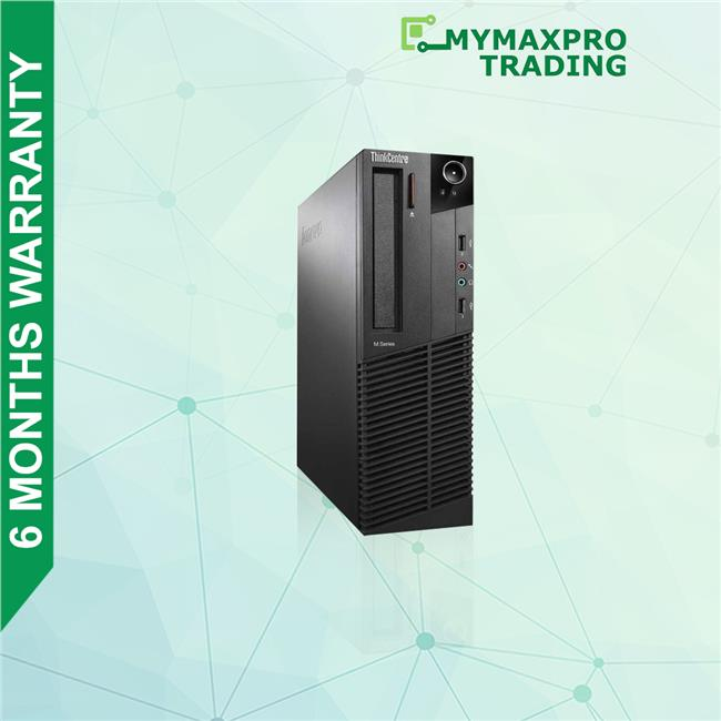 Lenovo ThinkCentre M71e SFF i5-2nd Gen 4GB 500GB HDD Win 10 Desktop