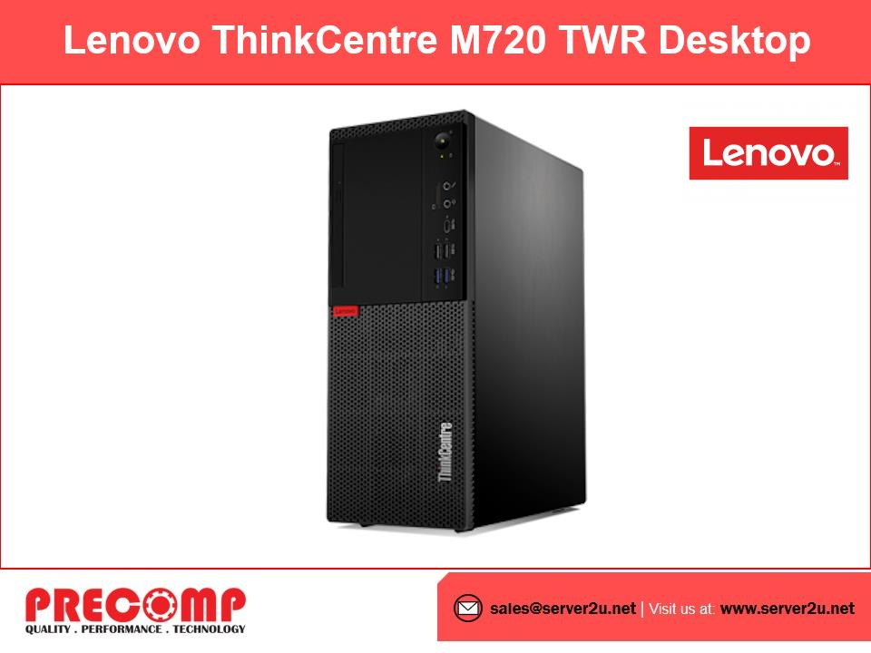 Lenovo ThinkCentre M720 TWR Desktop (i7-9700.8GB.1TB)(10SQS00D00)