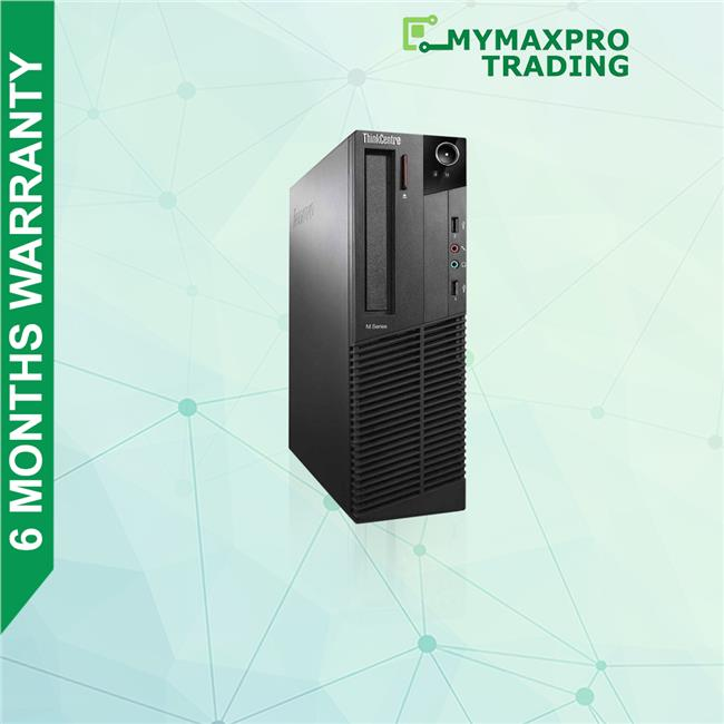 Lenovo ThinkCentre M73 SFF Desktop i7-4th Gen 4GB 500GB HDD Win10Pro