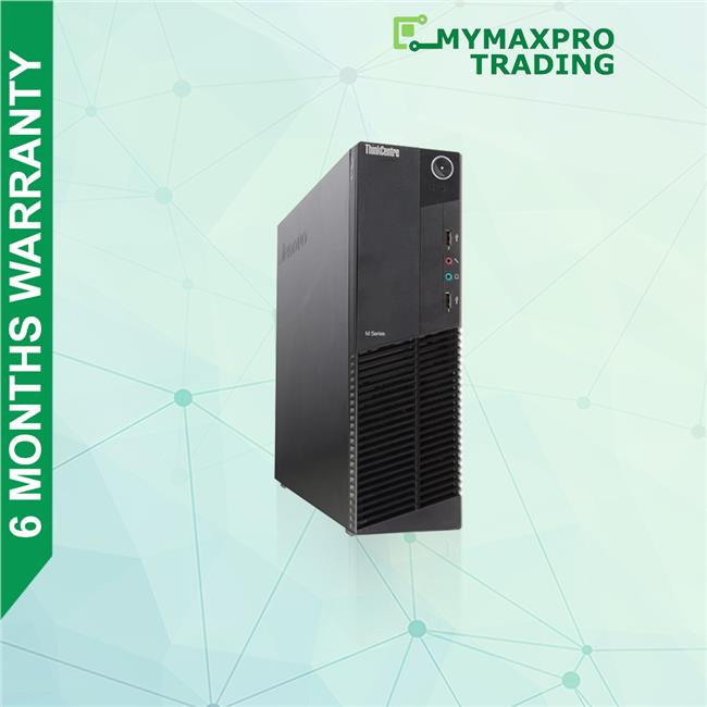 Lenovo ThinkCentre M91p SFF Desktop Core i3 2nd Gen 4GB 250GB HDD Win7