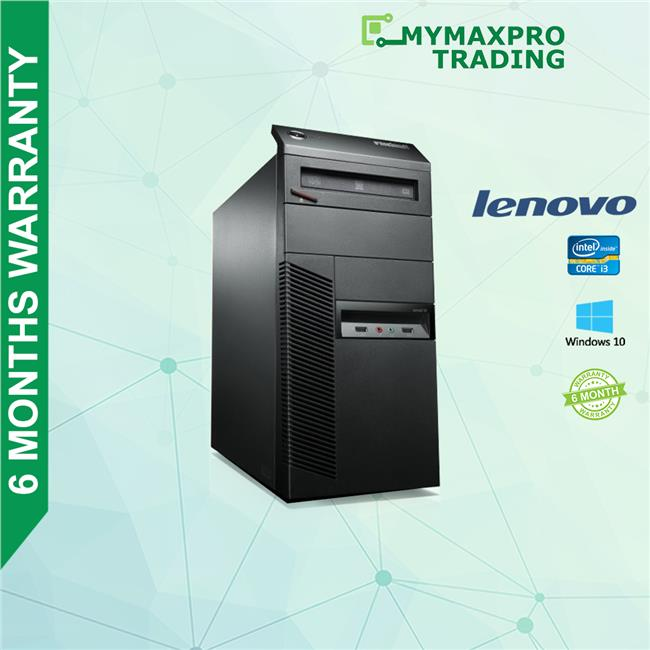 Lenovo ThinkCentre M92 MT Desktop i3-3rd Gen 4GB 250GB HDD Win7