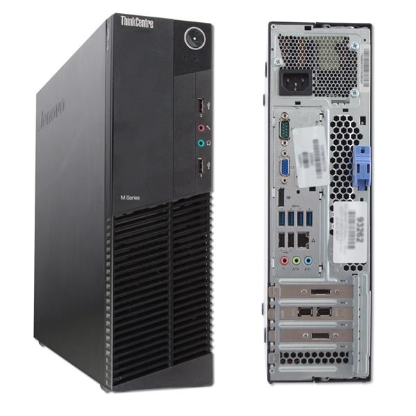 Lenovo ThinkCentre M92p SFF Desktop i3-3rd Gen 4GB 250GB HDD Win7