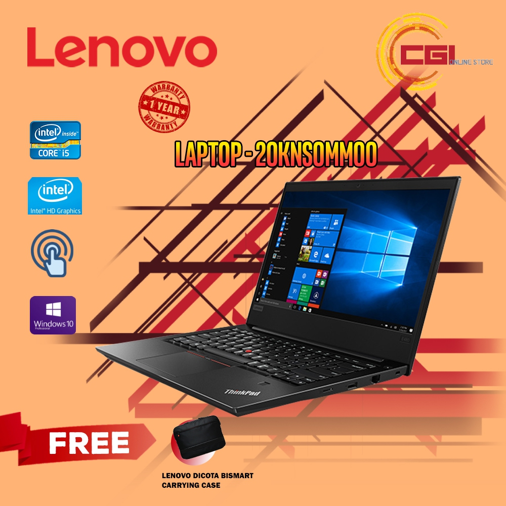 Lenovo ThinkPad E480 14' Laptop - 20KNS0MM00